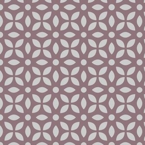 Grey On Mauve Jaali