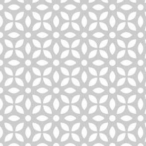White On Grey Jaali
