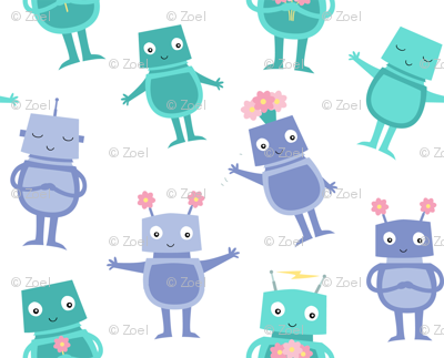 Robot Sweeties