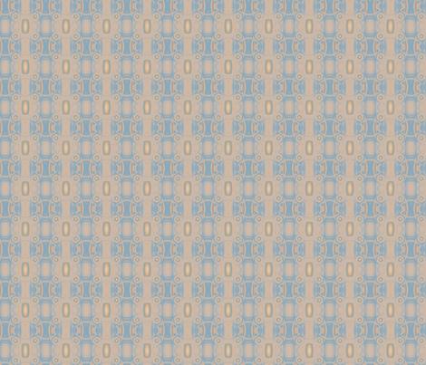 Ocean Villa Pool Pattern 1 © 2010 Gingezel™ Inc. fabric by gingezel on Spoonflower - custom fabric