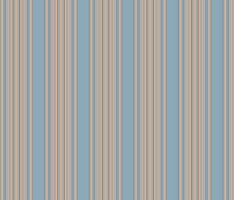 Ocean Villa Pool Stripe © 2010 Gingezel™ Inc. fabric by gingezel on Spoonflower - custom fabric