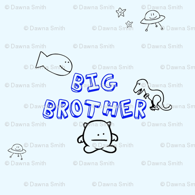 Big Brother - Pale Blue