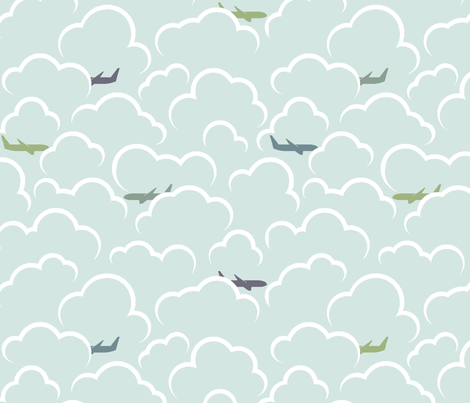 Exit Row (Zoom) fabric by leighr on Spoonflower - custom fabric