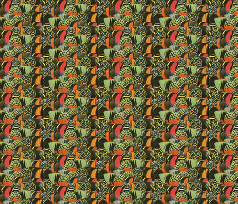 vintage_wingsalt1 fabric by dolphinandcondor on Spoonflower - custom fabric