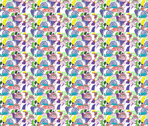 vintage_wingsalt2 fabric by dolphinandcondor on Spoonflower - custom fabric