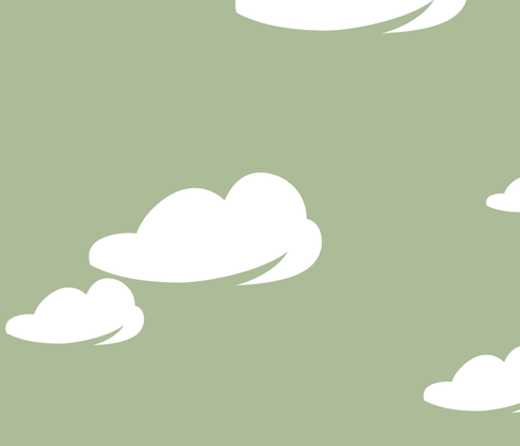 cumulus fabric by delsie on Spoonflower - custom fabric
