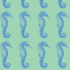 seahorse- seagreen bl
