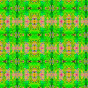 Garden Green rad plaid