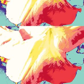 Angels Trumpet Flower Kaleidescope