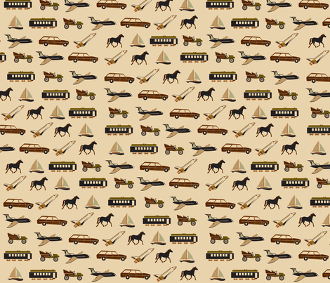 years_of_traveling fabric by saucy_otter on Spoonflower - custom fabric