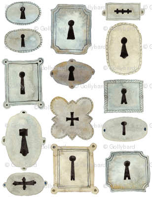 Escutcheons - Florentine Collection