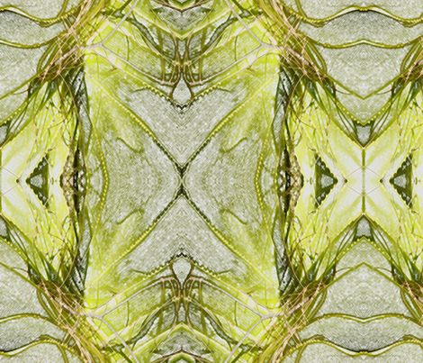 Organics in Lime fabric by engelstudios on Spoonflower - custom fabric