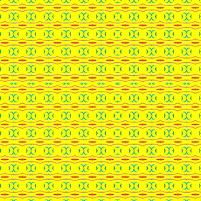 Yellow There Pattern