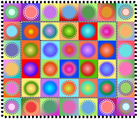 ahh, a bold and modern cheater fabric by vo_aka_virginiao on Spoonflower - custom fabric