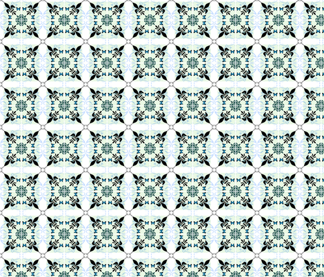 Grieving Mothers - fleur-de-lis fabric by paragonstudios on Spoonflower - custom fabric