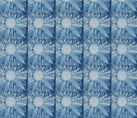 indigo_burst fabric by whistlefiddle on Spoonflower - custom fabric