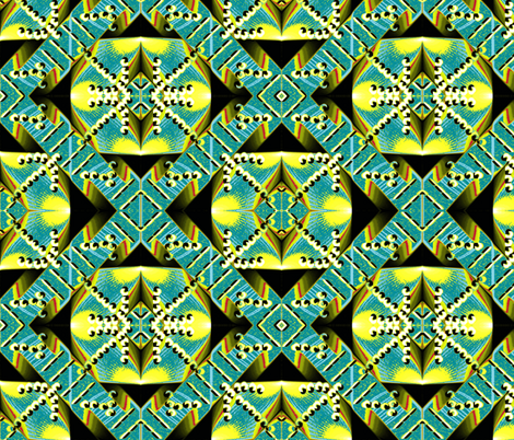 Aztec Inspired  fabric by rokinronda on Spoonflower - custom fabric