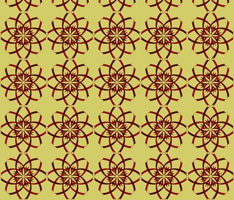 Fall Flowers fabric by artbybaha on Spoonflower - custom fabric