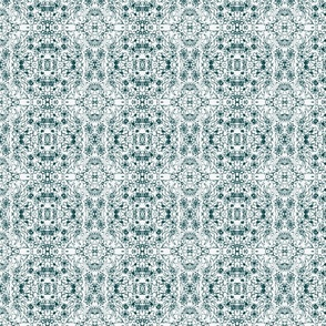 Floral Medley Teal
