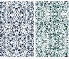 Floral Medley Blue