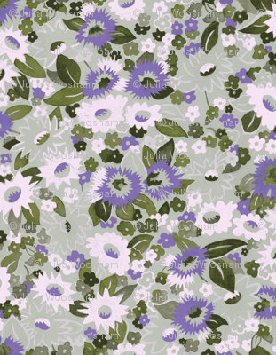 Daisies-olive