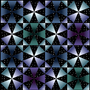 Kaleidoscope night sky-1