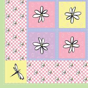 Girlie_Bugs_Baby_Quilt_42x36