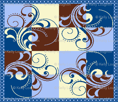 Cafe Scroll Quilt