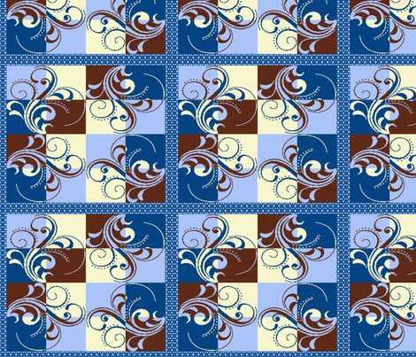 Rrscroll_quilt_brown_blue_2_with_border_shop_preview