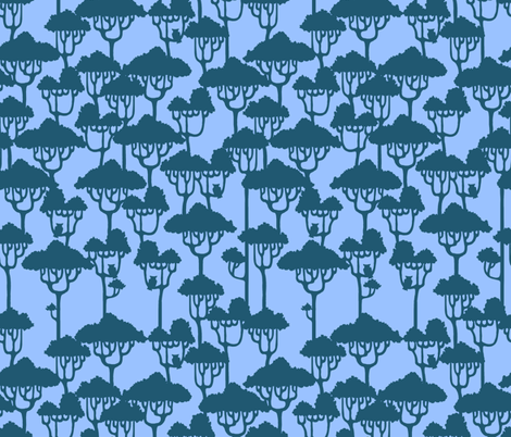 Forest fabric by jadegordon on Spoonflower - custom fabric