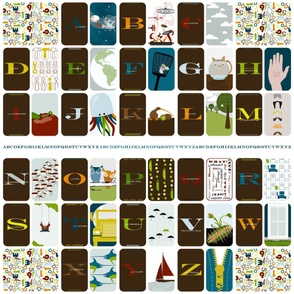 A is for Alien: Cheaters Quilt/Fabric Book