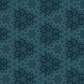Gear Tile Pattern
