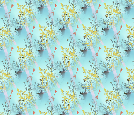 Flowers fabric by renewfabrics on Spoonflower - custom fabric