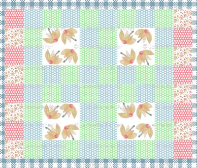 Flossie's Garden Quilt