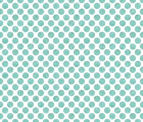 Glitter Dots Sky Blue fabric by cynthiafrenette on Spoonflower - custom fabric