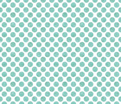 Glitter Dots Sky Blue fabric by cynthiafrenette on Spoonflower - custom fabric