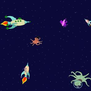 octopi in space