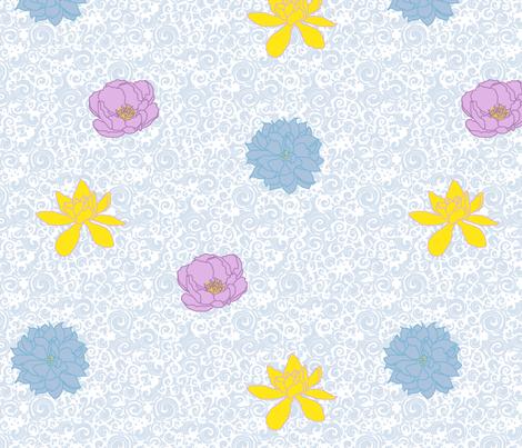 A Wild Hope fabric by leighr on Spoonflower - custom fabric