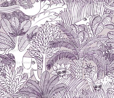 jungle gris