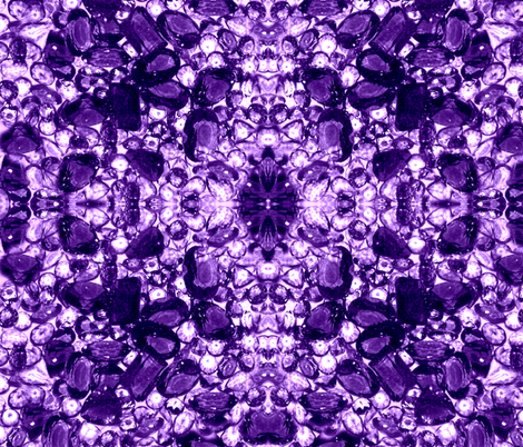 Huge Amethyst fabric by paragonstudios on Spoonflower - custom fabric
