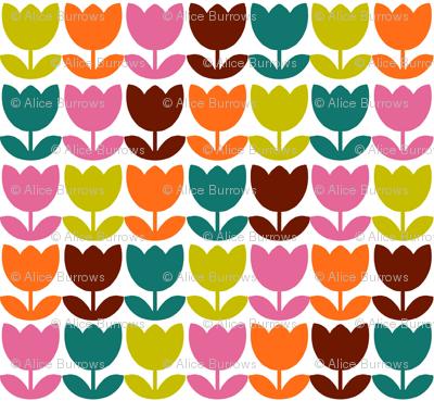 Tulip_Repeat_Brown