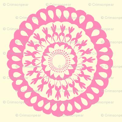 Pink Signature Medallion