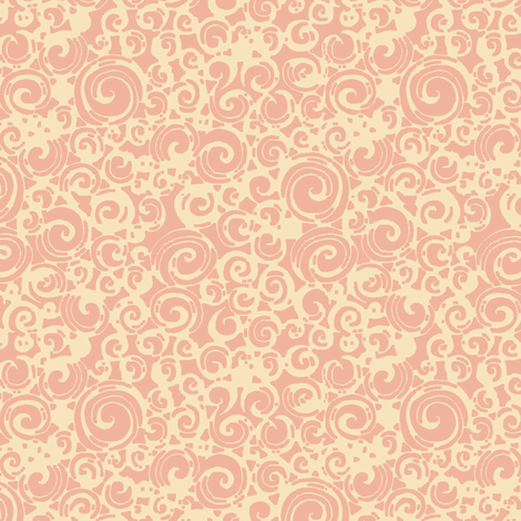 Are You a Hypnotist? (pink/cream) fabric by leighr on Spoonflower - custom fabric