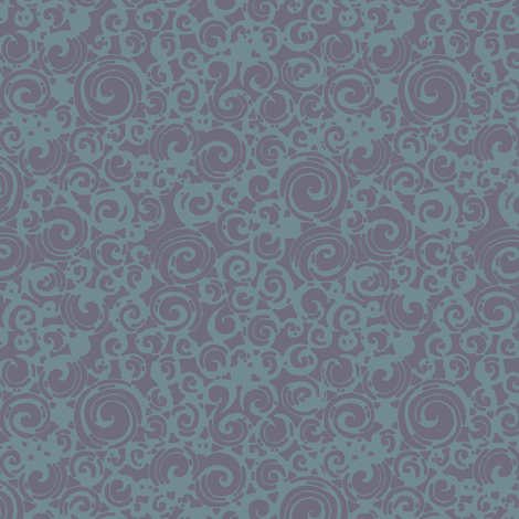 Are You a Hypnotist? (plum/teal) fabric by leighr on Spoonflower - custom fabric