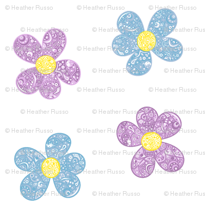 Bandana Flowers