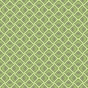 Wicker Weave Green