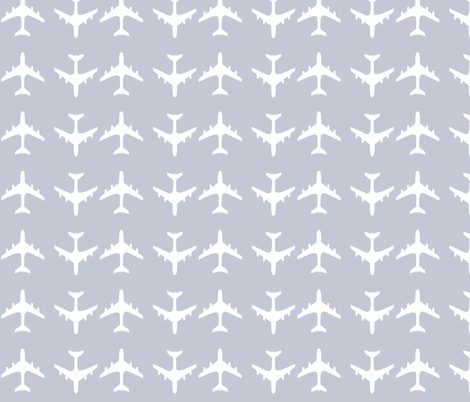 airplane fabric by corvus on Spoonflower - custom fabric