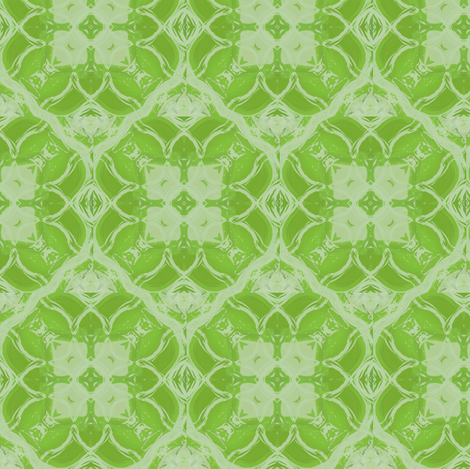 Apple Green Square fabric by oranshpeel on Spoonflower - custom fabric