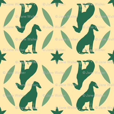 Green Greyhounds gg4 ©2010 by Jane Walker