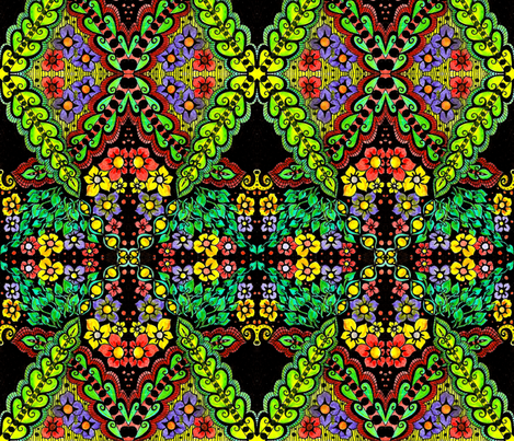 x_and_o fabric by chelmers on Spoonflower - custom fabric